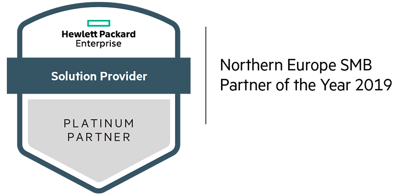 Northern Europe SMB Partner of the Year i 2019 logo